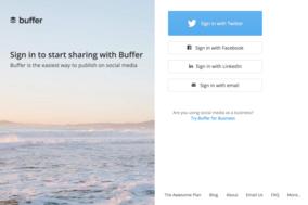 Buffer screenshot