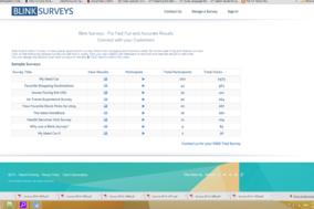 Blink Surveys screenshot