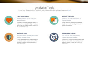 Analytics Toolkit screenshot
