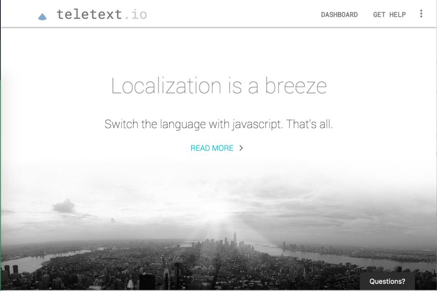 Teletext.io