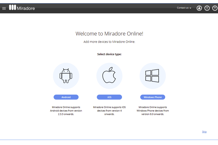 Miradore Online Reviews, Pricing and Alternatives