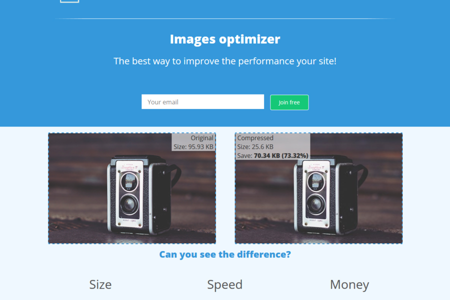 Images optimizer