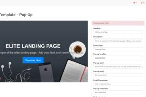 QuickPages screenshot