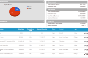 AddressTwo CRM screenshot