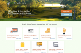 GolfRegistrations screenshot
