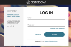 Databowl screenshot