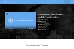 Stack Accomplice screenshot