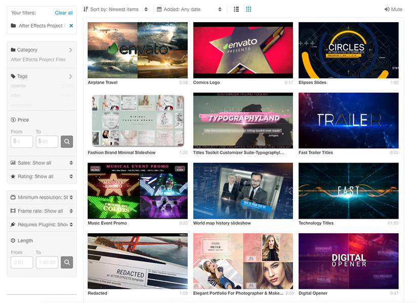 VideoHive Reviews, Pricing and Alternatives