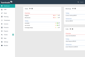 Teamleader screenshot