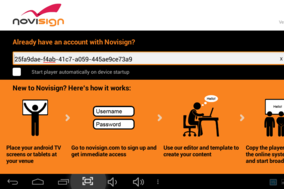 NoviSign screenshot