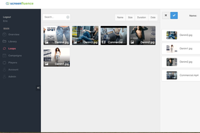 Screenfluence screenshot
