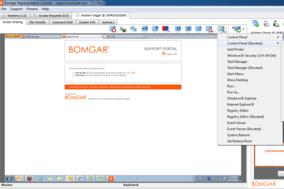 Bomgar screenshot