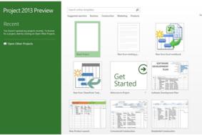 Microsoft Project screenshot