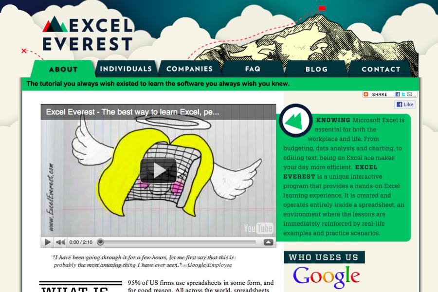 Excel Everest