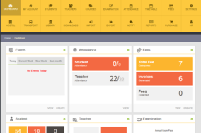 Open-School screenshot