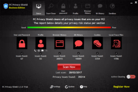PC Privacy Shield screenshot