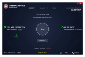 Shield Antivirus screenshot