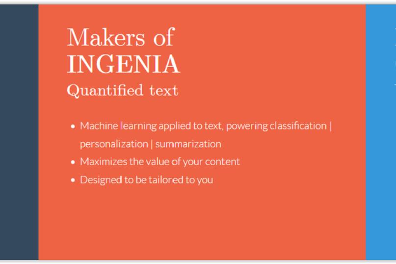 Ingenia API