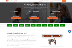 CyberTraining 365 screenshot