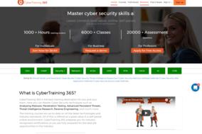 CyberTraining 365 screenshot