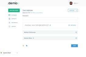 Demio screenshot