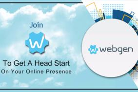 Webgen screenshot