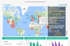 Event Registry screenshot
