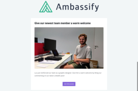 Ambassify screenshot