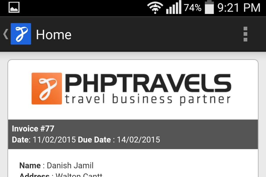 PHPTRAVELS