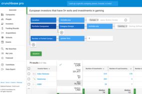 Crunchbase Pro screenshot