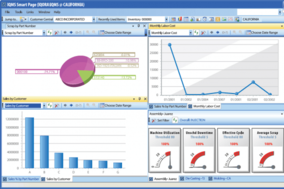 IQMS ERP screenshot
