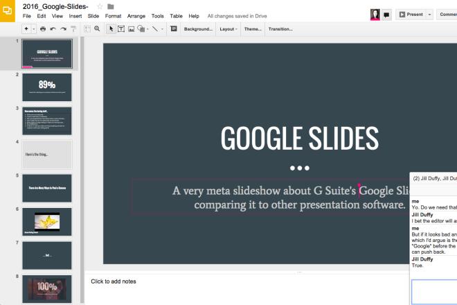 Google Slides Reviews Pricing And Alternatives Crozdesk