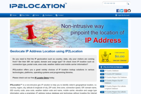 IP2Location screenshot