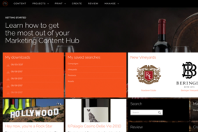 Marketing Content Hub screenshot