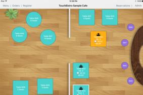 TouchBistro POS screenshot