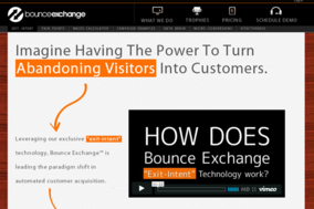 Bounce Exchange screenshot