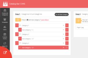 Catalog Bar screenshot