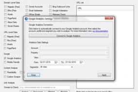 URL Profiler screenshot