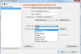 Akamai screenshot