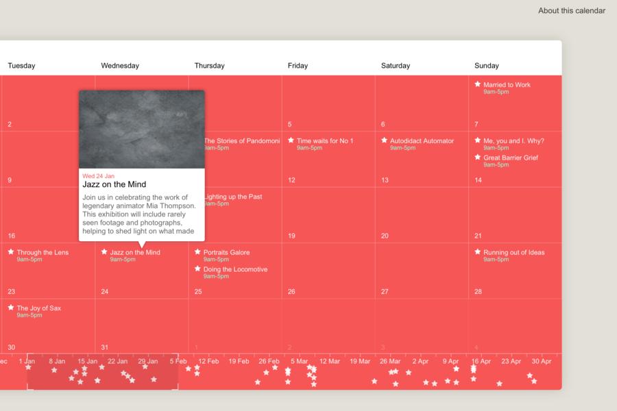 ChronoFlo Calendar