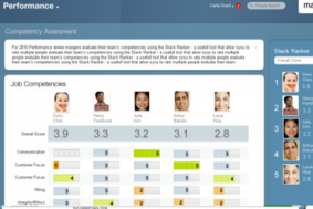 SuccessFactors screenshot