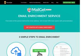 MailGet Enricher screenshot