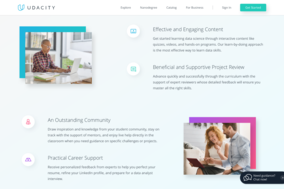 Udacity screenshot