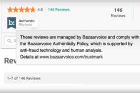 Bazaarvoice screenshot