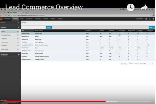 Lead Commerce