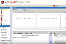 Qualys screenshot