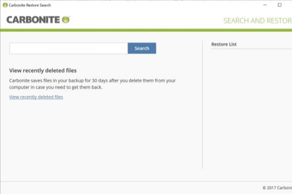 carbonite software download