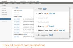 Aconex screenshot