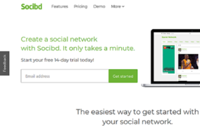 Socibd screenshot