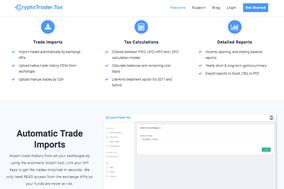 CryptoTrader.Tax screenshot